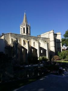 Palais du Pape. Det största gotiska fortet och påvepalatset i världen. 1300-tal. Historia. Häftigt!