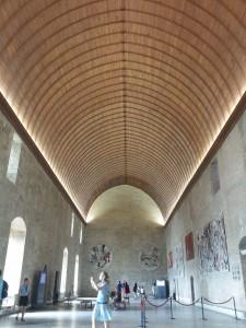 Bankettsalen i Palais de Pape